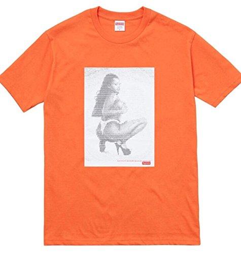 Supreme Ss17 Digi Tee - Orange