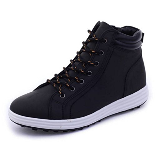 Water Resistant Black Boots Mens Work EpicStep Simple Toe Soft Comfort xnqF7FPA