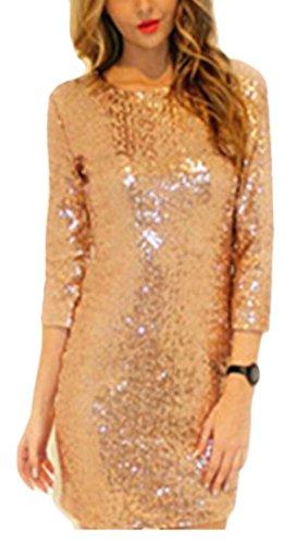metallic colorblock bandage dress - 8