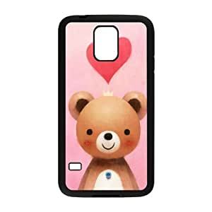 Cute cartoon bear Brand New Cover Case with Hard Shell Protection for SamSung Galaxy S5 I9600 Case lxa#979607