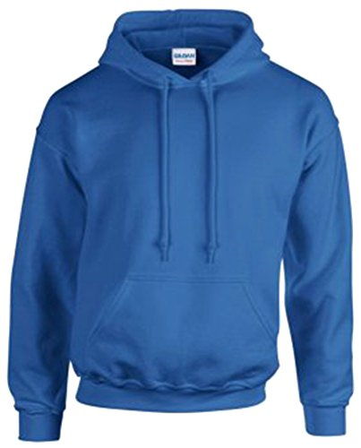 Gildan 18500 - Classic Fit Adult Hooded Sweatshirt Heavy Blend - First Quality - Royal - Large