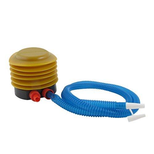 eDealMax gonflable Plaything Ballon  Boule Pompe  air gonfleur Jaune Bleu