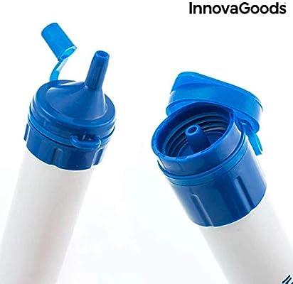 InnovaGoods IG114499 Purificador de Agua Portátil, Blanco, Talla ...