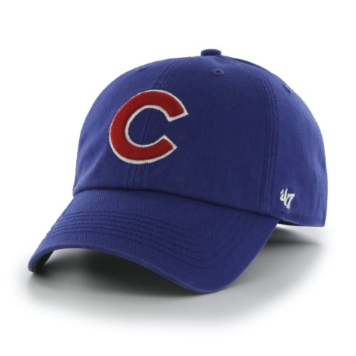 MLB Chicago Cubs '47 Franchise Fitted Hat, Royal, (Chicago Cubs Classic Cotton)