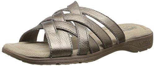 Eastland Women's Hazel Dress Sandal Pewter