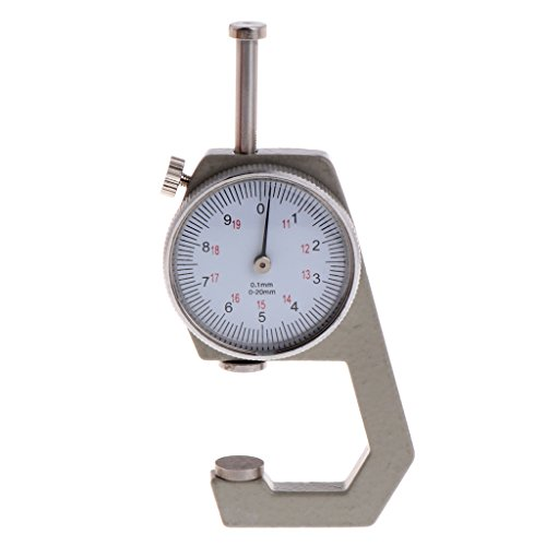 Because0f 0-20mm Vernier Caliper 0.1 Range Gauge Thickness Ruler Tool For Jewelry Measure