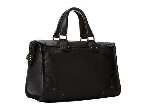 Coach Rhyder 24 Satchel in Leather, Style 33690, Black by Coach (Image #1)