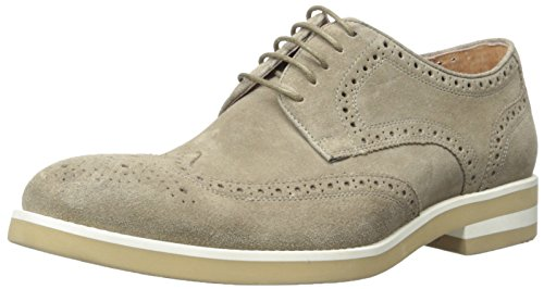 Kenneth Cole New York Men's Demand Oxford, Taupe, 11.5 M US