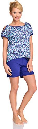 Merry Style Pijama para mujer Lidia Azul