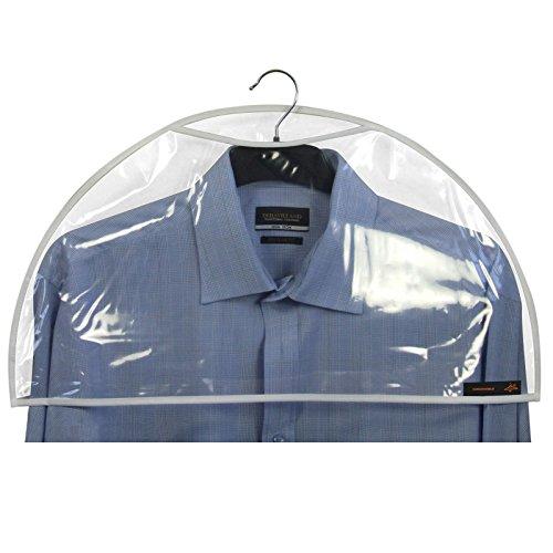 Hangerworld Pack Clear Shoulder Covers