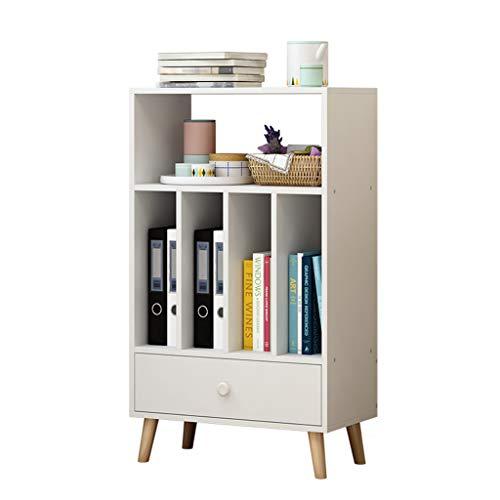 Estantería para el hogar, estante simple biblioteca de estudiante, estante de almacenamiento de varias capas, gabinete de...