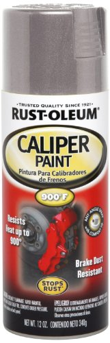 Rust-Oleum Automotive 251595 12-Ounce Caliper Paint Spray, Silver
