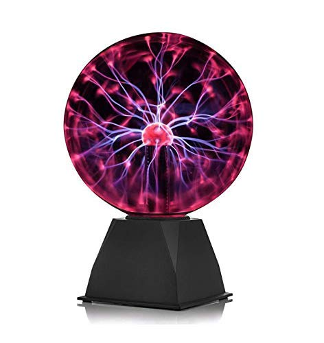 V-Best Plasma Ball - Nebula, Thunder Lightning, Plug-in - for Parties, Decorations, Prop, Kids, Bedroom, Home, and Gifts (Particle Board Nebula)
