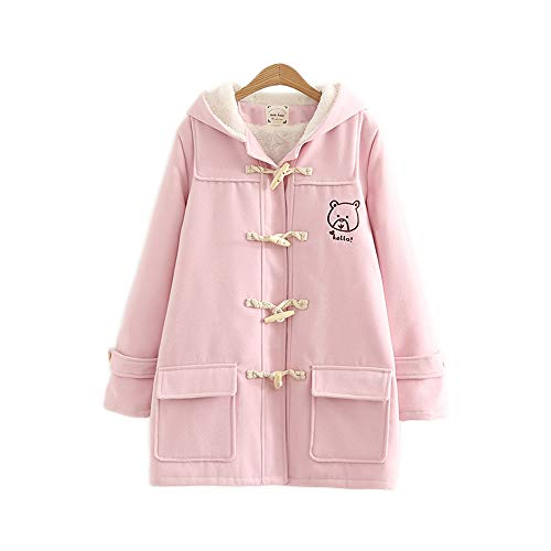 Manteau Taille Rose Unique Femme Himifashion wUPXqxBU