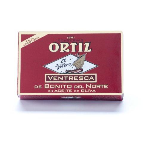 Ortiz Ventresca Tuna - Ortiz Ventresca White Tuna Belly in Oil - 10 pack (112g each)