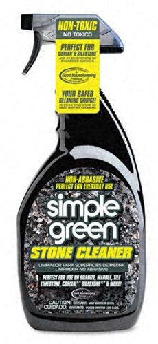 Simple Green 18401 Stone Cleaner, 32oz Trigger Spray - Natural Marble Tile
