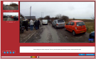 Review each hazard perception clip to help improve your skills
