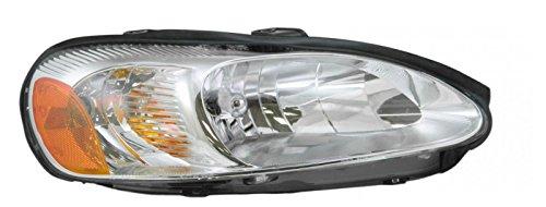 Headlight Headlamp Passenger Side Right RH for 01-02 Sebring Stratus Coupe