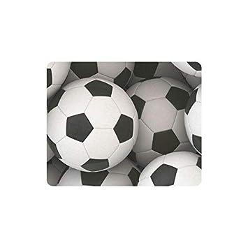 Luancrop Deportes decoración balón de fútbol rectángulo ...