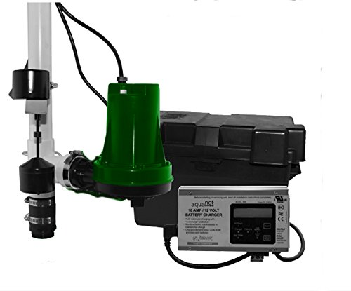 Zoeller 508-0005 Aquanot 508 Battery Back-Up - Backup Sump Pump Emergency