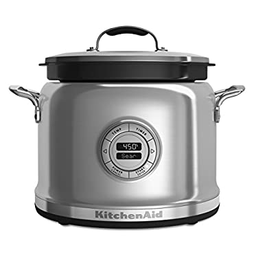 KitchenAid KMC4244SS Multi-Cooker with Stir Tower Stainless Steel