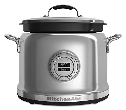 KitchenAid KMC4244SS Multi-Cooker with Stir Tower - Stainles