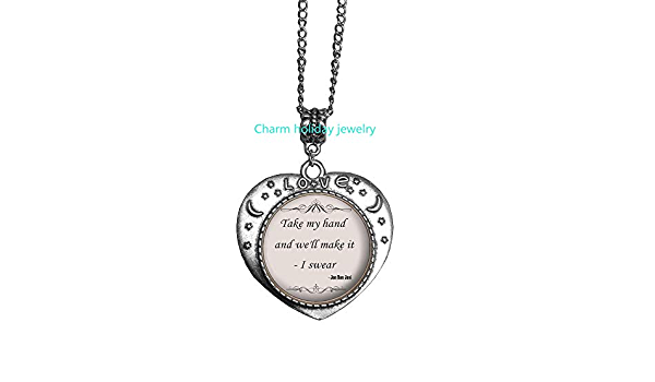 Take my Hand Necklace