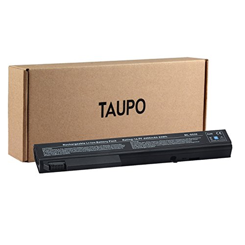 TAUPO New Laptop Battery for HP EliteBook 8530p 8540p 8730w 8530w 8540w, ProBook 6545b [4400mAh, 8-Cell] - 12 Months Warranty