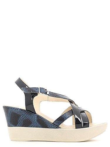 Sandales 257093 Susimoda compensées Bleu Femmes FzPAwqP0