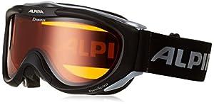 Alpina Skibrille FreeSpirit, schwarz transparent dlh (black transparent dlh),...