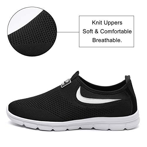 Image of Socviis Mens Casual Athletic Sneakers Comfort Running Shoes Slip On Shoe for Men Walking Working Tennis Aerobics Gym
