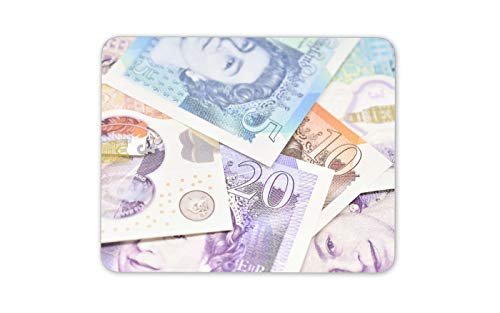 Bank Notes Mouse Mat Pad - Money Currency Pounds British Computer Gift #15919 ()