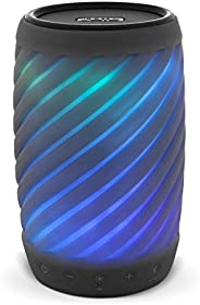 iHome Alexa Built-in Bluetooth Speaker Portable Wireless Color Changing Waterproof Rechargeable Lights Up to Music with Spea