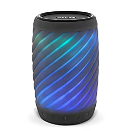 iHome Alexa Built-in Bluetooth Speaker Portable Wireless Color Changing Waterproof Rechargeable Lights Up to Music with…