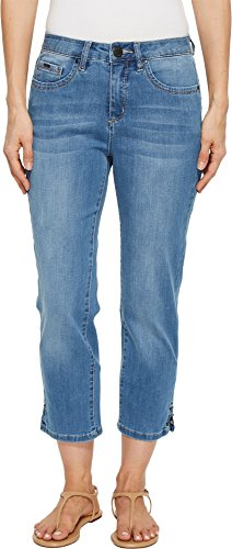 FDJ French Dressing Jeans Women's Coolmax Denim Olivia Crop in Chambray Chambray 2 24