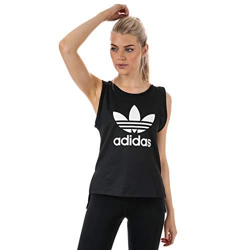 adidas Originals Women's EQT Tank Top 2 Black