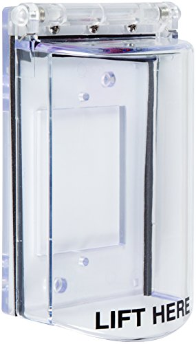 ternational, Inc. STI-6518 Bopper Stopper with Spring Loaded Hinge - Clear Protective Cover (Sti Stopper)