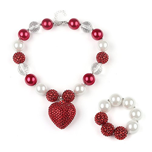 Chunky Heart Necklace - 6