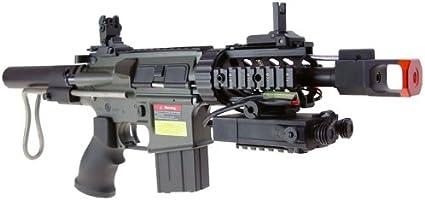 Amazon.com: JG M4 CQB AEG carabina Airsoft rifle (Airsoft ...