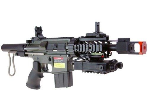 jg m4 cqb aeg carbine airsoft rifle(Airsoft (M4 Cqb Retractable Stock)