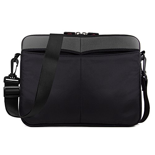 Kroo 10-11.6 Inch Laptop Sleeve Tablet Bag, Water Resistant Neoprene Notebook Computer Carrying Cover for Apple MacBook, Microsoft Surface, Chromebook (Kroo Carrying Case)