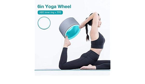 Meetforyou Rueda de Yoga -Fitness Dharma Wheel para asanas y ...
