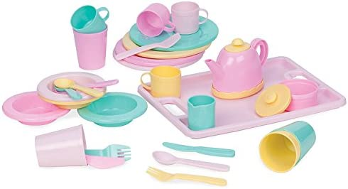 Play Circle Battat Dinnerware 34 piece