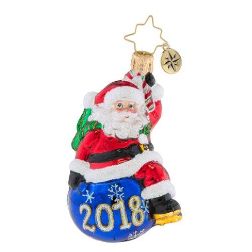 Christopher Radko Having A Ball Little Gem Christmas Ornament