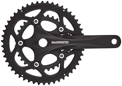SHIMANO FC-R345 Crank Set 2x9-speed 50/34 black Crank length 175mm 2020 Chainsets Mountain bike