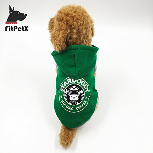 FitPetX Small-size Terriers Lovely Pets Clothes with a Hat - Designers Best Hat