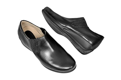 Ecco–Elegante Mujer Slipper Abelone de Ecco Negro - negro