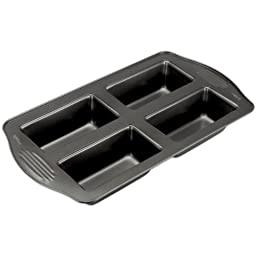 Wilton Excelle Elite 4-Cup Mini Loaf Pan