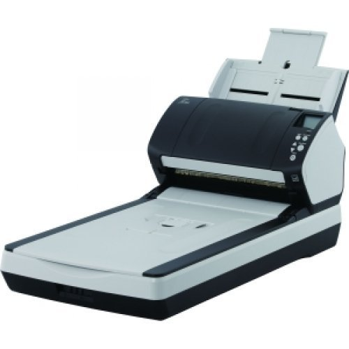 FUJITSU i-7260 Sheetfed/Flatbed Scanner / 24-bit Color – 8-bit Grayscale – USB / PA03670-B555 /