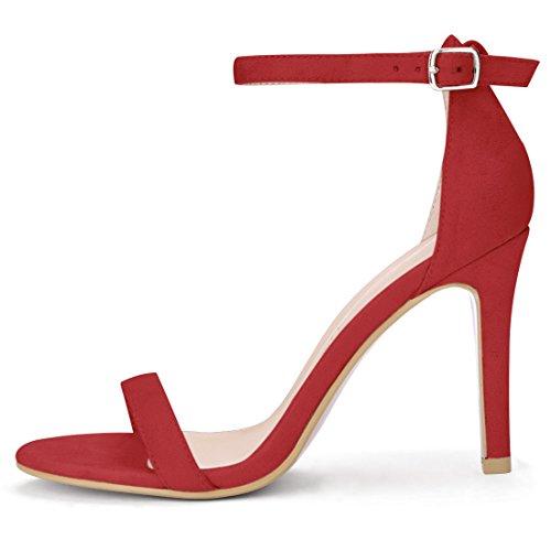 Sandals K Heels Women Red Allegra Stiletto High Ankle Strap 0pPvqda